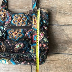 Bags - CUTE FLORAL AND PAISLEY FABRIC QUILTED TOTE